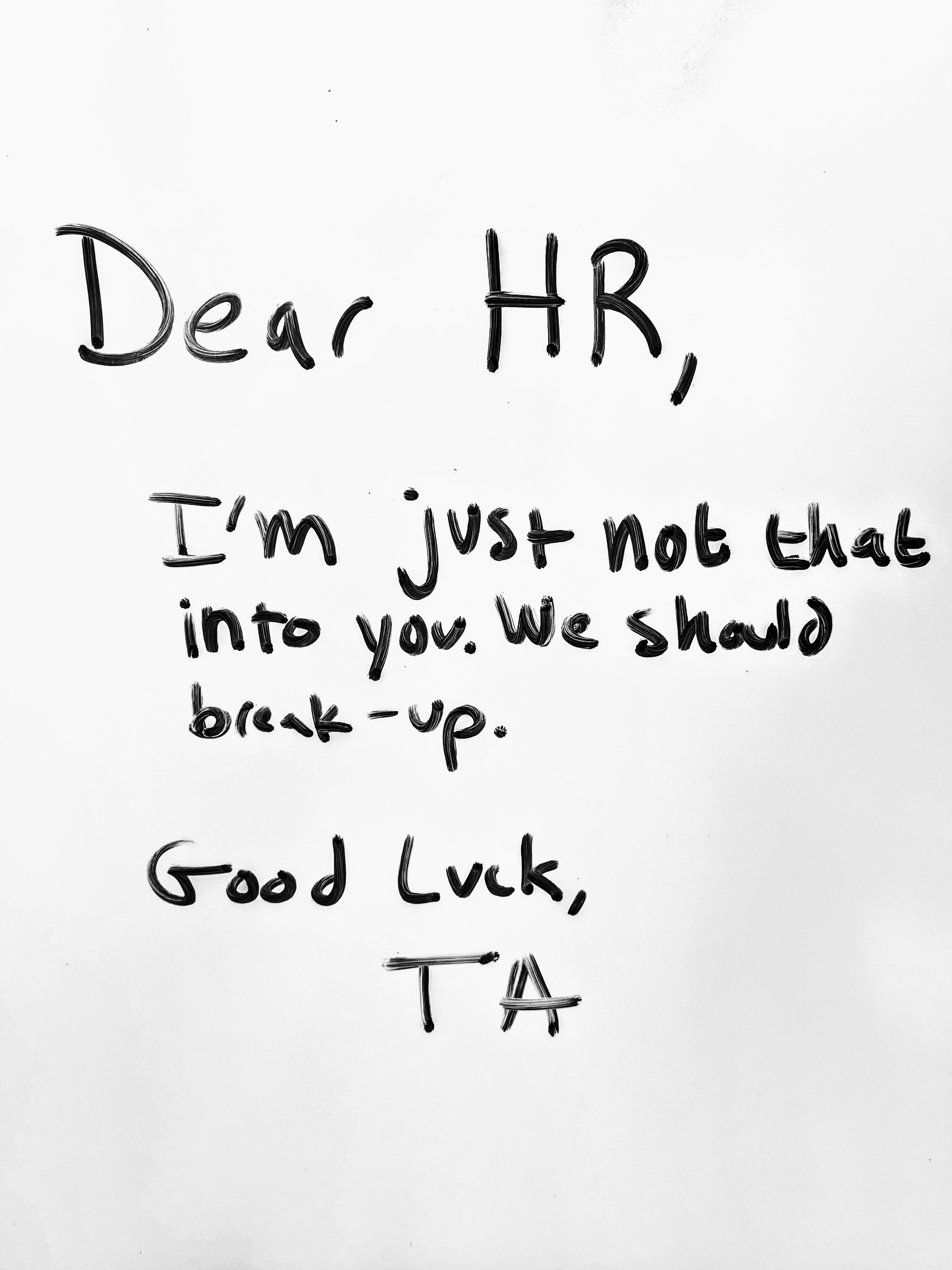 TA, It's Time To Break Up With HR