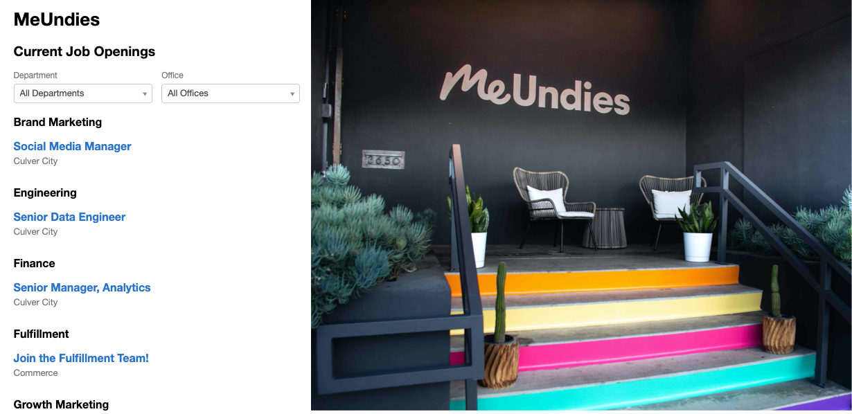 How MeUndies & NextWave Hire Launched A Career Site In 21 Days.