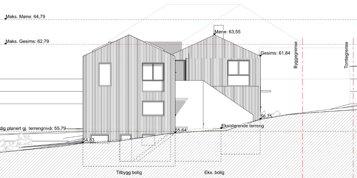 Bygge hus plantegning