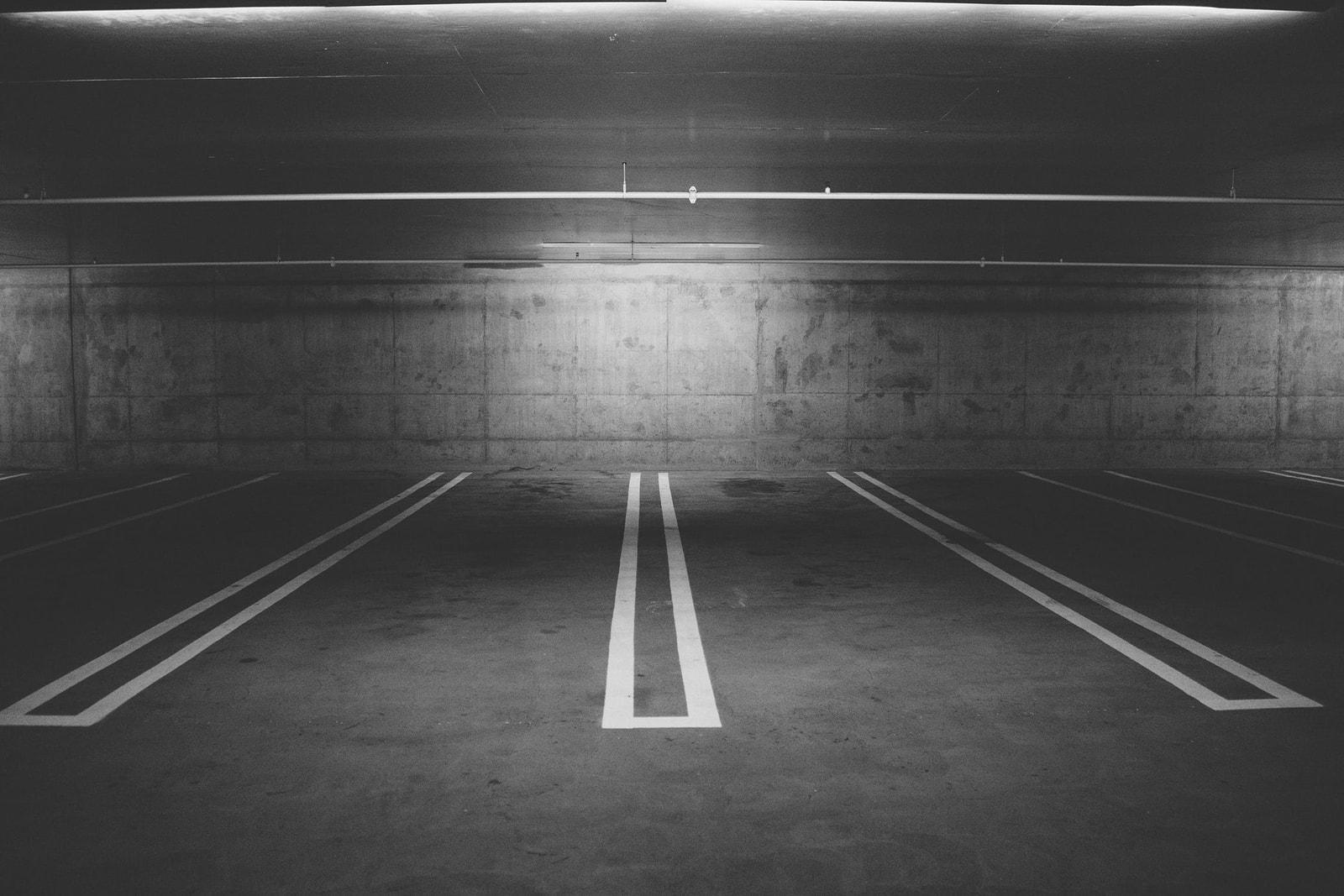 Underjordisk garage