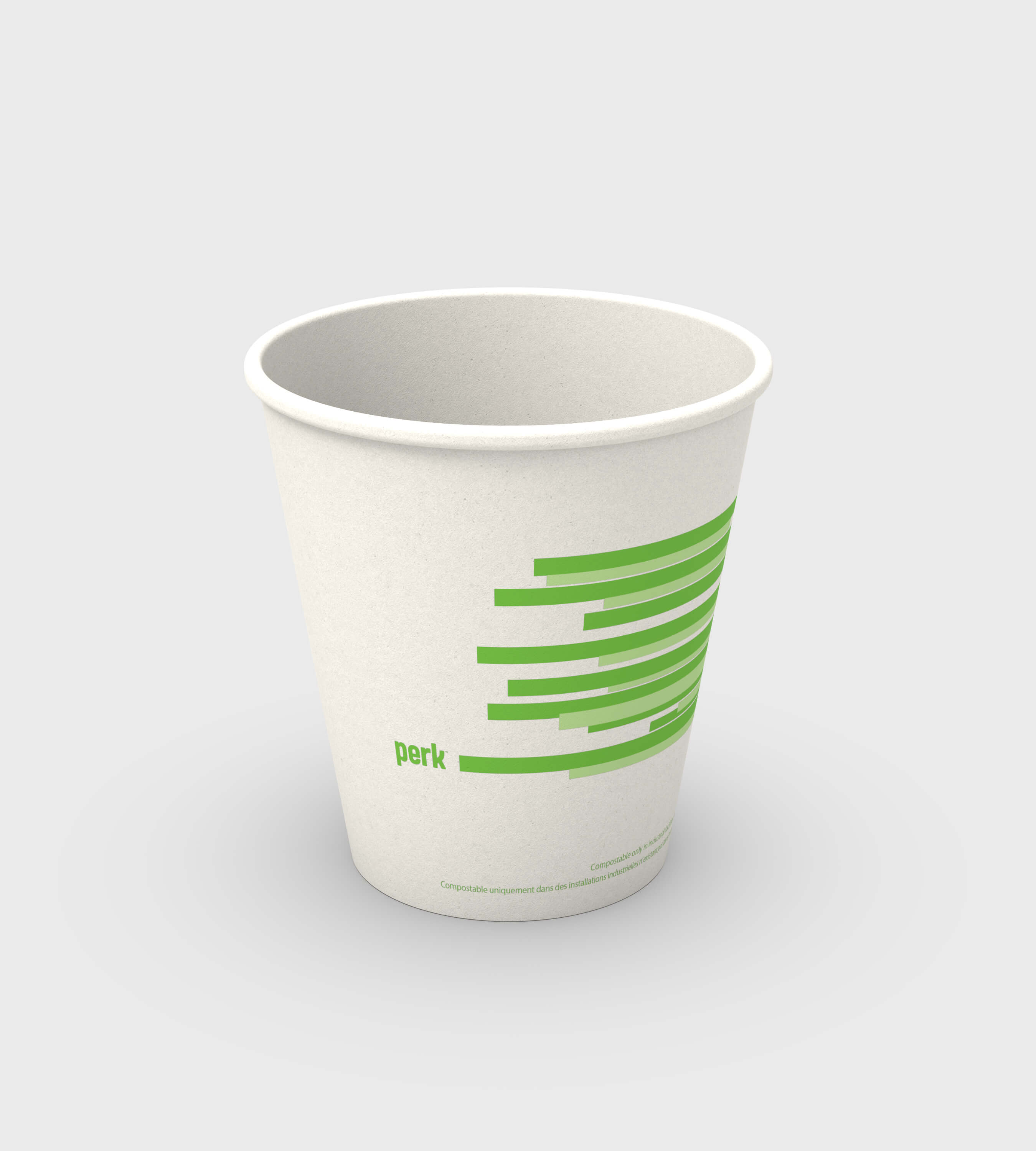 3D CAD Render by Sprout Studios of a paper cup