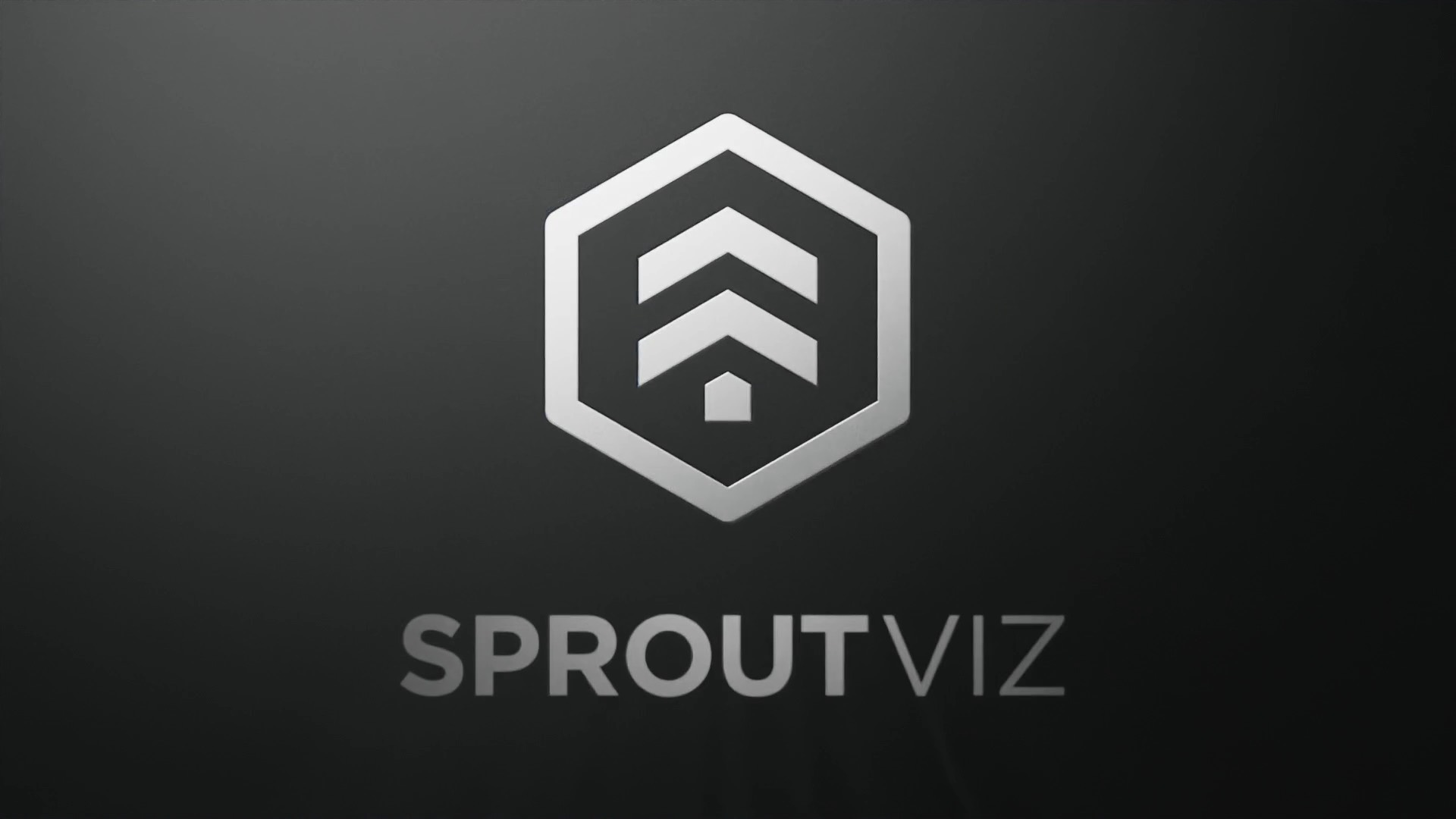 3D CGI Render Gif of the Sprout Viz Logo spinning