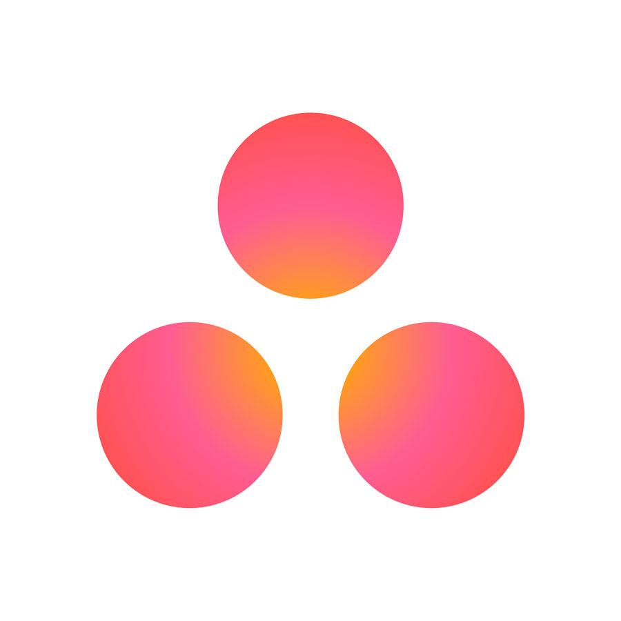 Asana logo icon