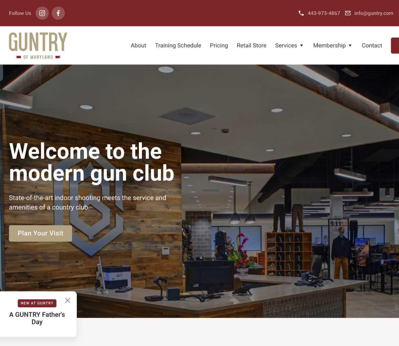 guntry-homepage