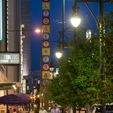 14th Street Sidewalk Lighting