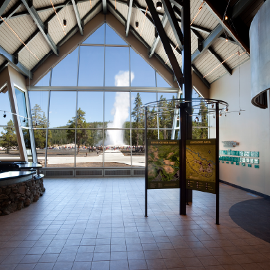 Exhibit Hall Entrance