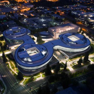 Apple Campus 3 Overhead