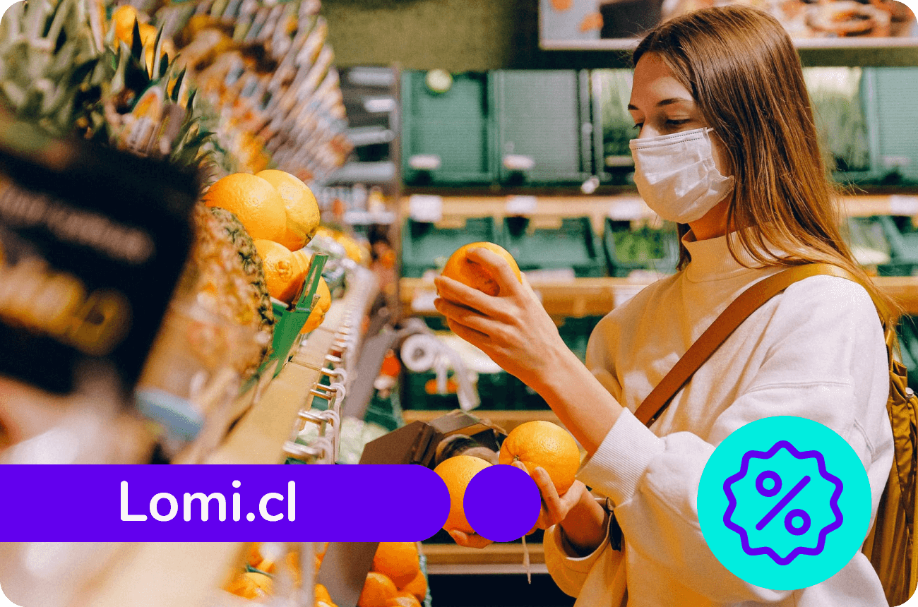 Organiza tu despensa con LOMI y apoya a los productores locales con un 15% de dcto. 🍊🌽🌾🍅