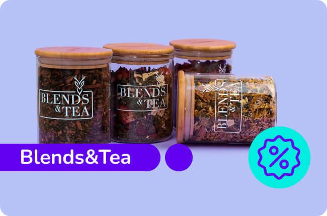 Blends & Tea te dará el sabor que necesitas para enfrentar este otoño e invierno 2021.