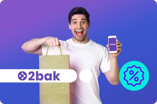 ¡Devuelve cualquier producto gratis y sin problemas con 2bak!