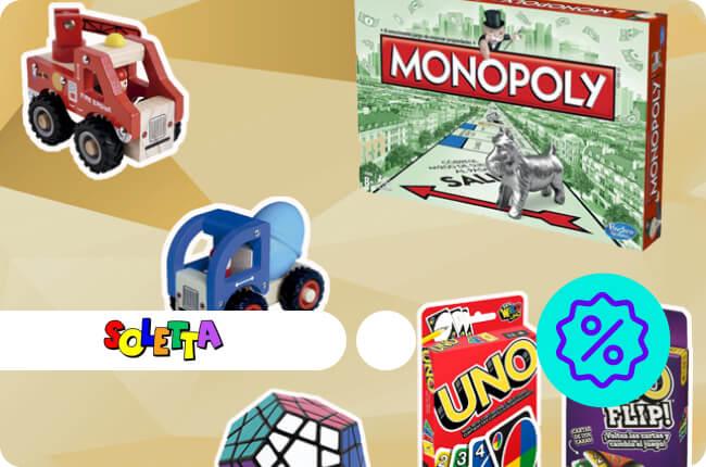 Deja de lado las pantallas y únete a la diversión inteligente; Juegos de mesa, de habilidades motrices, puzzles 3d y mucho más.