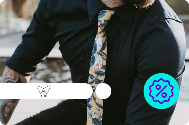 Corbatas, calcetines y poleras con estilo y diseño Nacional.