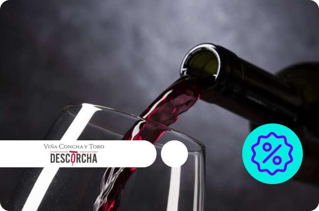 Celebra la primavera descorchando los mejores vinos y espumantes con un 40% de dscto. comprando con MACH en www.descorcha.com