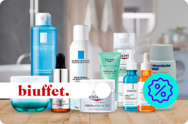 Productos de belleza para el cuidado de la piel, cuidado del cabello y cosméticos. Amplio mix de marcas para completar tu rutina de belleza.
