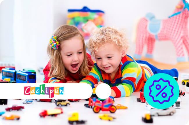 Juguetes educativos, artículos de librería y accesorios bebé.
