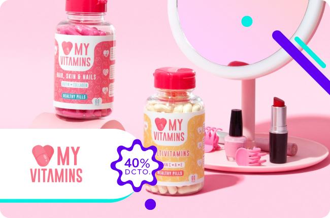 Haz que tu interior potencie lo mejor de ti y cuídate con los productos de Love my vitamins. Compra en el sitio www.lovemyvitamins.cl y obtén un 40% de dscto. en todos sus productos.