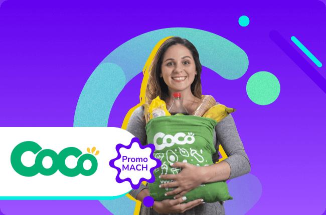 ¡Bienestar directo a la puerta de tu familia en Venezuela! Paga con MACH en Coco Mercado y ahorra hasta $10.000 en tu primera compra.