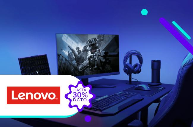 Si la forma de comunicarnos cambió, cambia tu viejo computador por un nuevo Lenovo y aprovecha hasta un 30% de dscto. comprando en su sitio web.