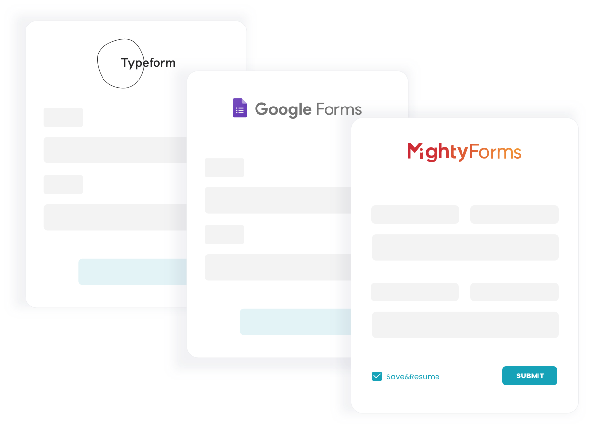 Forms Screenshots - Mightyforms
