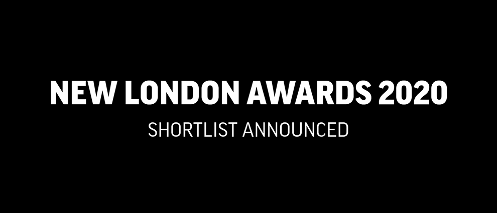 New London Awards Awards 2020 logo. Stow-Away has been shortlisted for a NL Award for 2020.