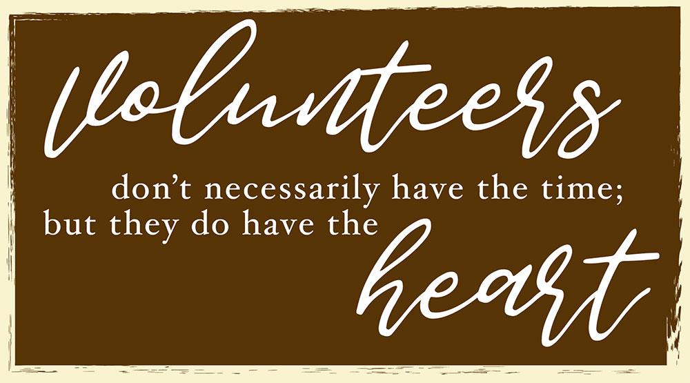 Volunteers Tag