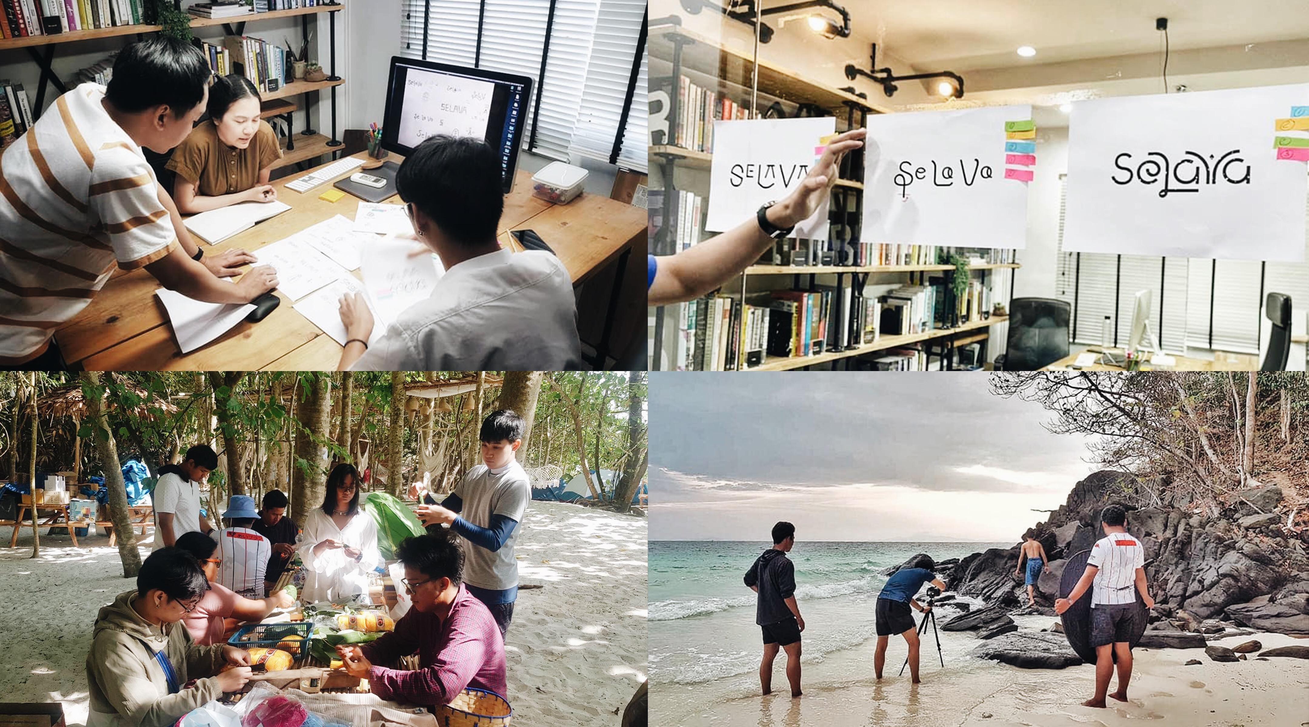 Brainstorm Selava experience branding Phuket Simplisis Design