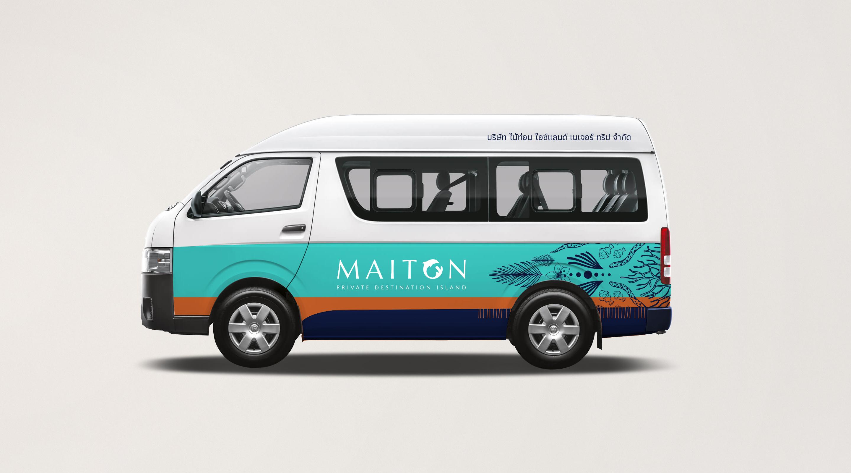 Van | Maiton | Simplisis Design Studio | Branding Design Agency in Phuket