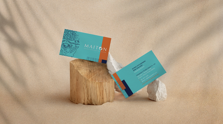 Stationary | Maiton | Simplisis Design Studio | Branding Design Agency in Phuket | Corporate Identity Design