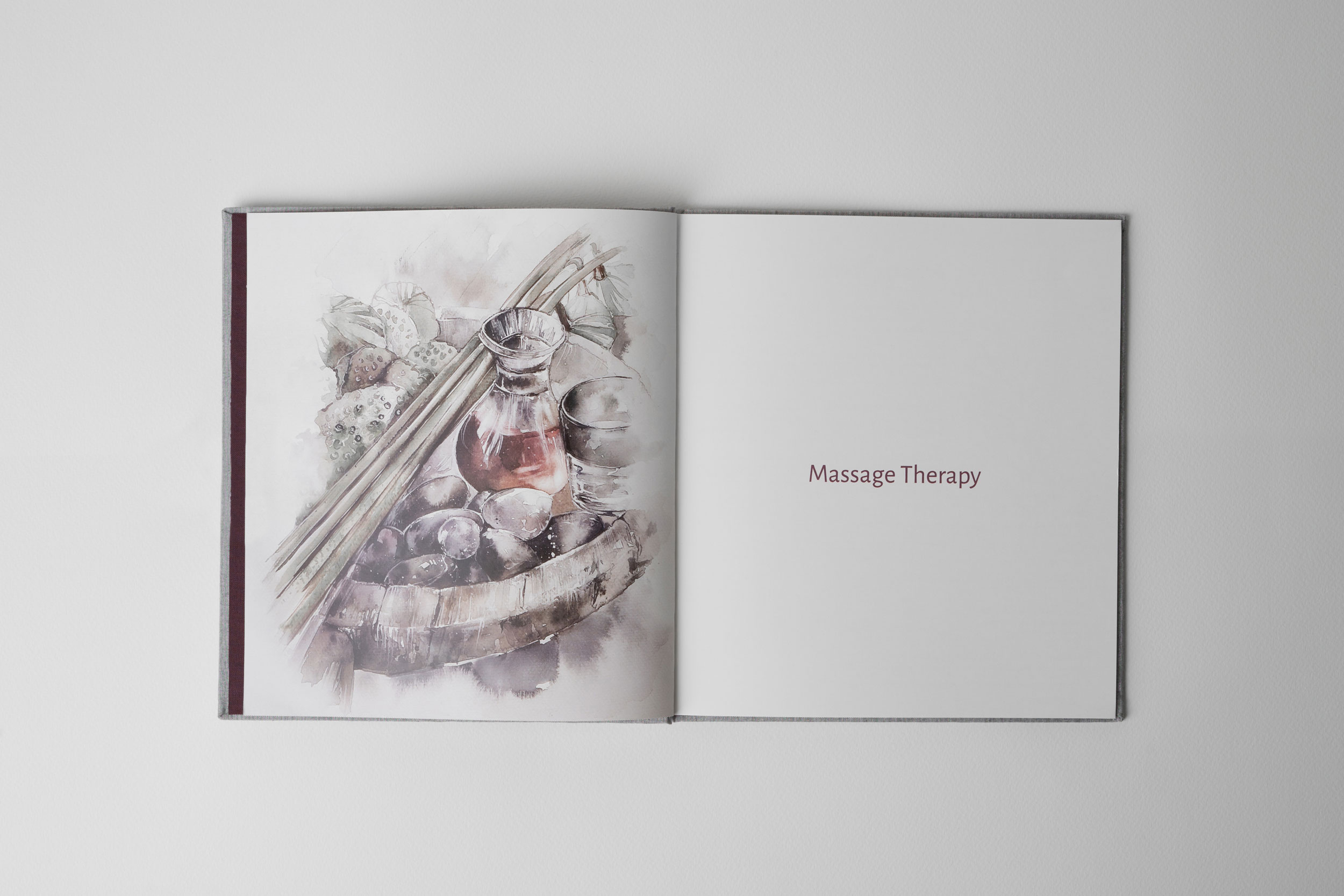 Menu | Chann Spa | The Thavorn Beach Village | Simplisis Branding Design Agency Phuket | Corporate Identity Design