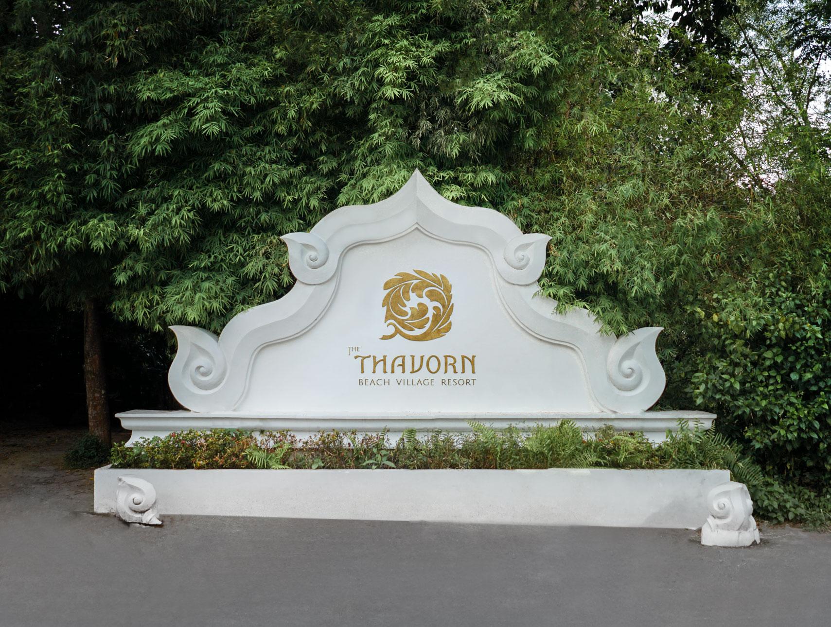 Signage | The Thavorn | Rebranding | Simplisis | Branding | Phuket | Creative | Design