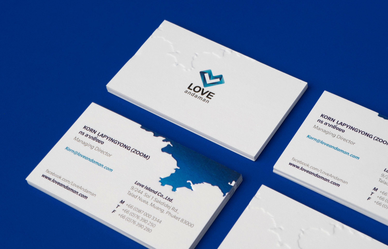 Loveandaman Stationery Design | Simplisis Branding Design Agency Phuket | Corporate Identity Design