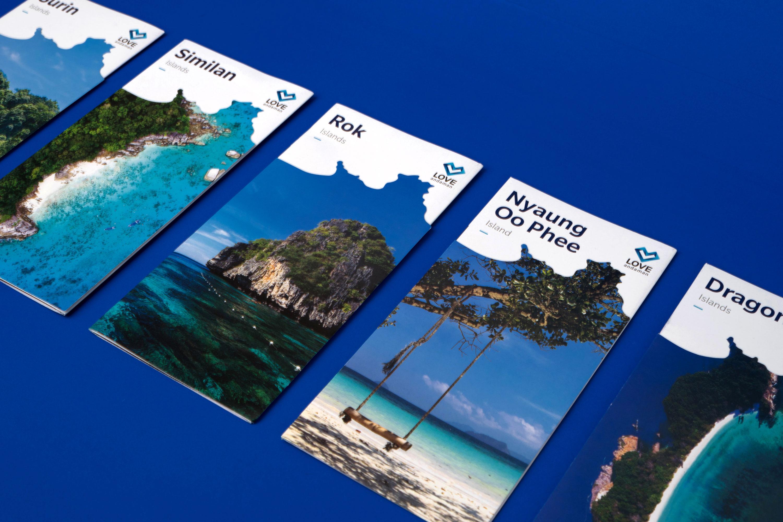 LoveAndaman | Brochure | Simplisis Branding Design Agency Phuket | Corporate Identity Design