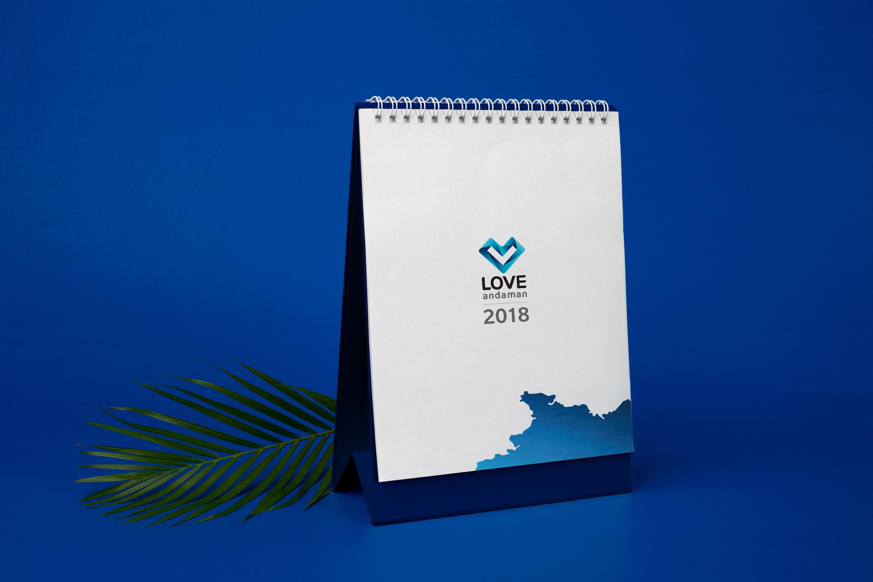 LoveAndaman | Calendar | Simplisis Branding Design Agency Phuket | Corporate Identity Design