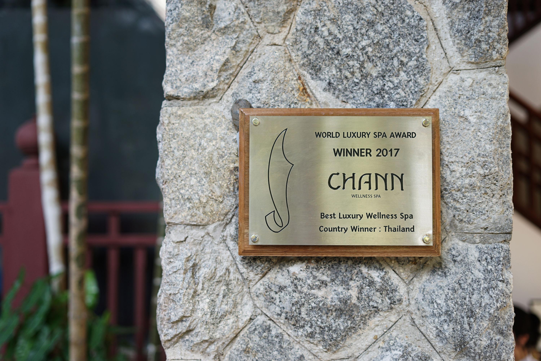 award | Chann Spa | The Thavorn Beach Village | Simplisis Branding Design Agency Phuket