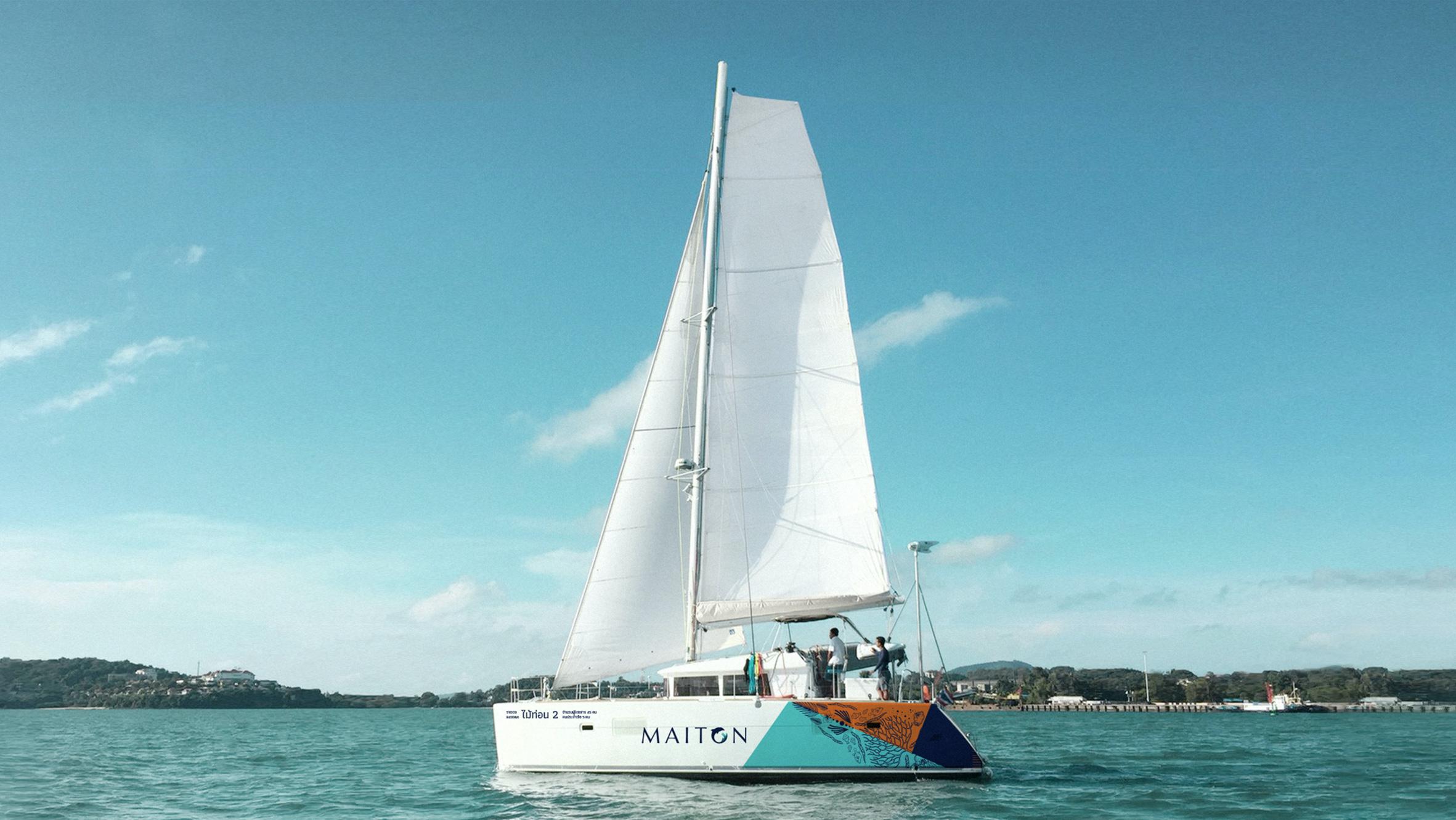 Yacht | Maiton | Simplisis Design Studio | Branding Design Agency in  | Corporate Identity Design