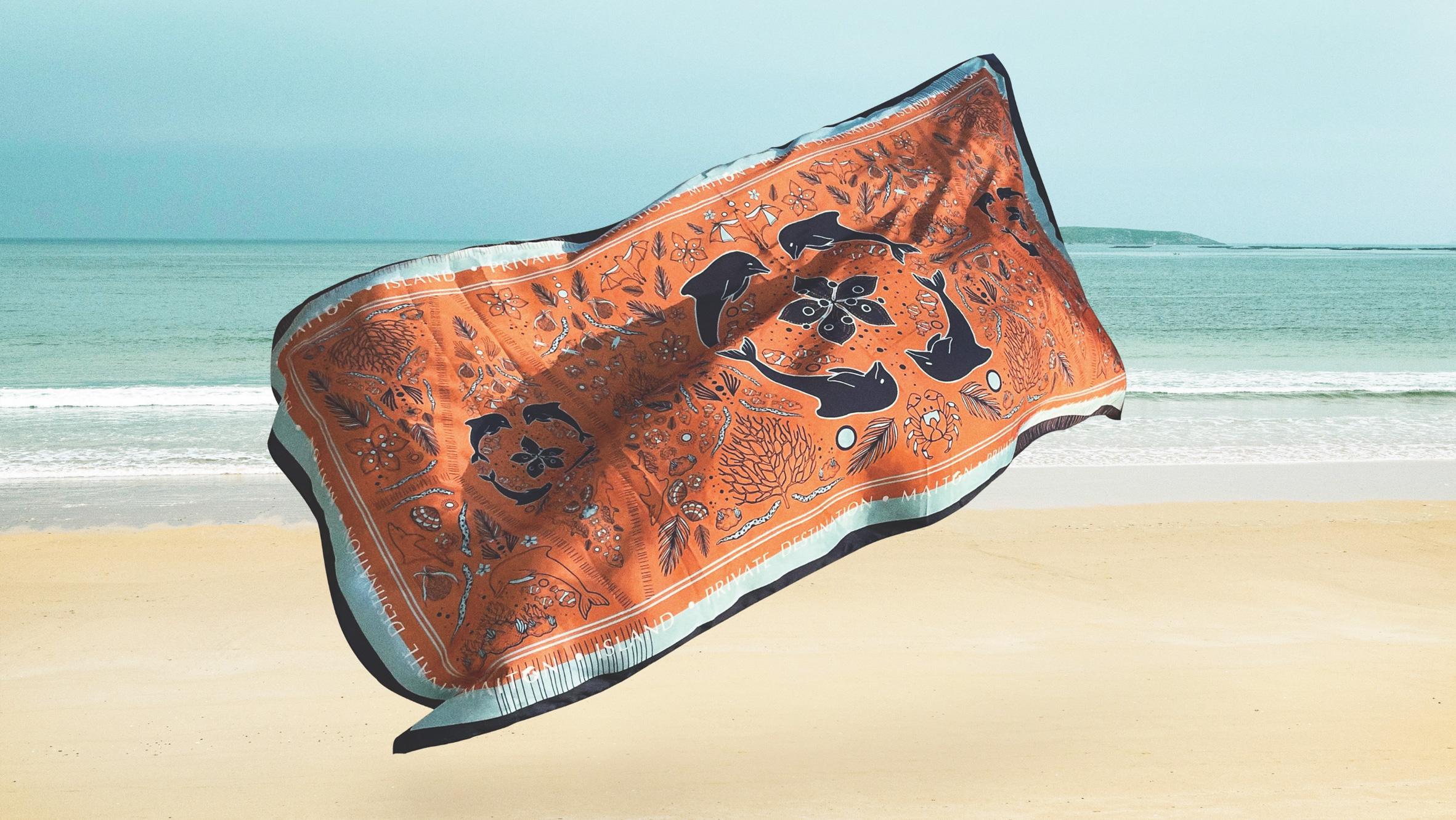 scarf | Maiton | Simplisis Design Studio | Branding Design Agency in Phuket
