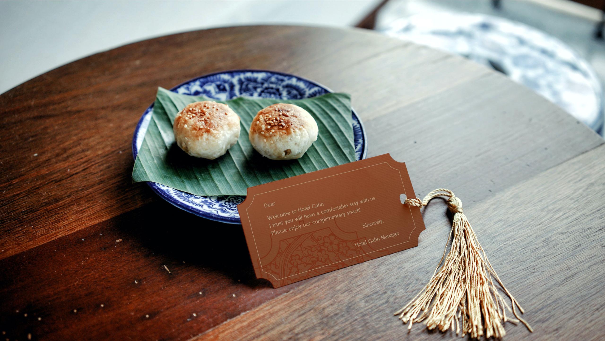 Welcome Snack | Hotel Gahn | Simplisis Design Studio | Branding Design Agency in Phuket