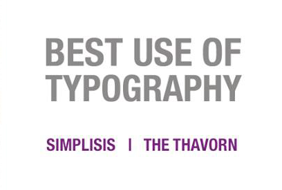The Thavorn Beach Village Resort | Best Use of Typography Winner Transform Award 2018 | Simplisis Design | Branding | Phuket | Corporate Identity | Visual | Design
