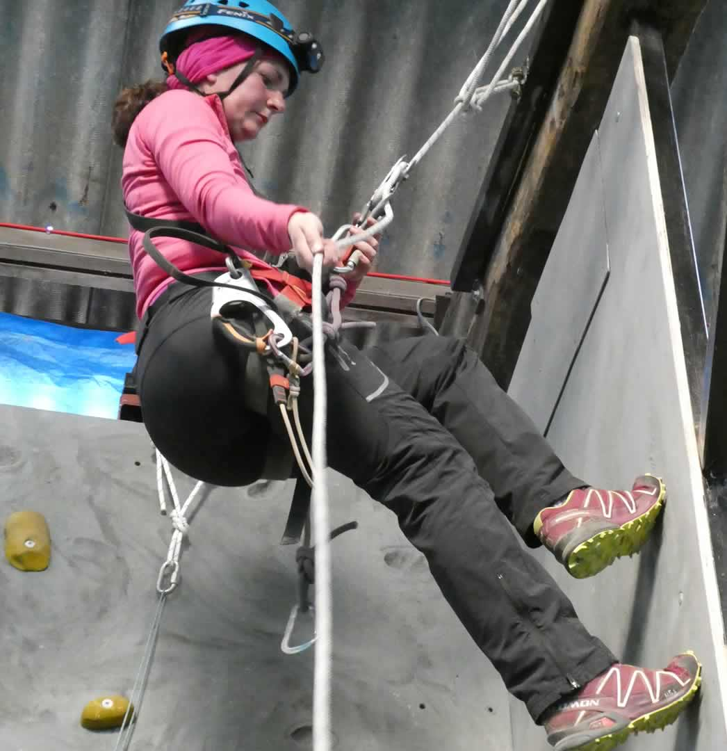 Learningthe ropes at YDG's very own SRTtraining facility