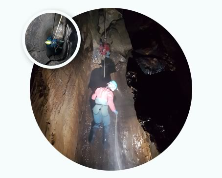 Cave instructor training & assessment