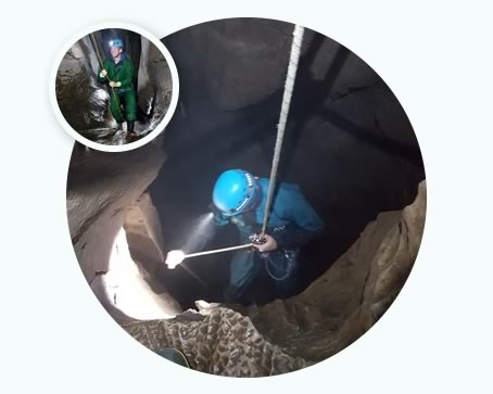 Cave safety courses