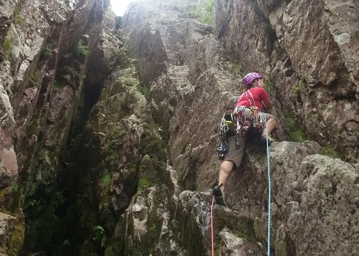 Outdoor rock climbing & abseiling
