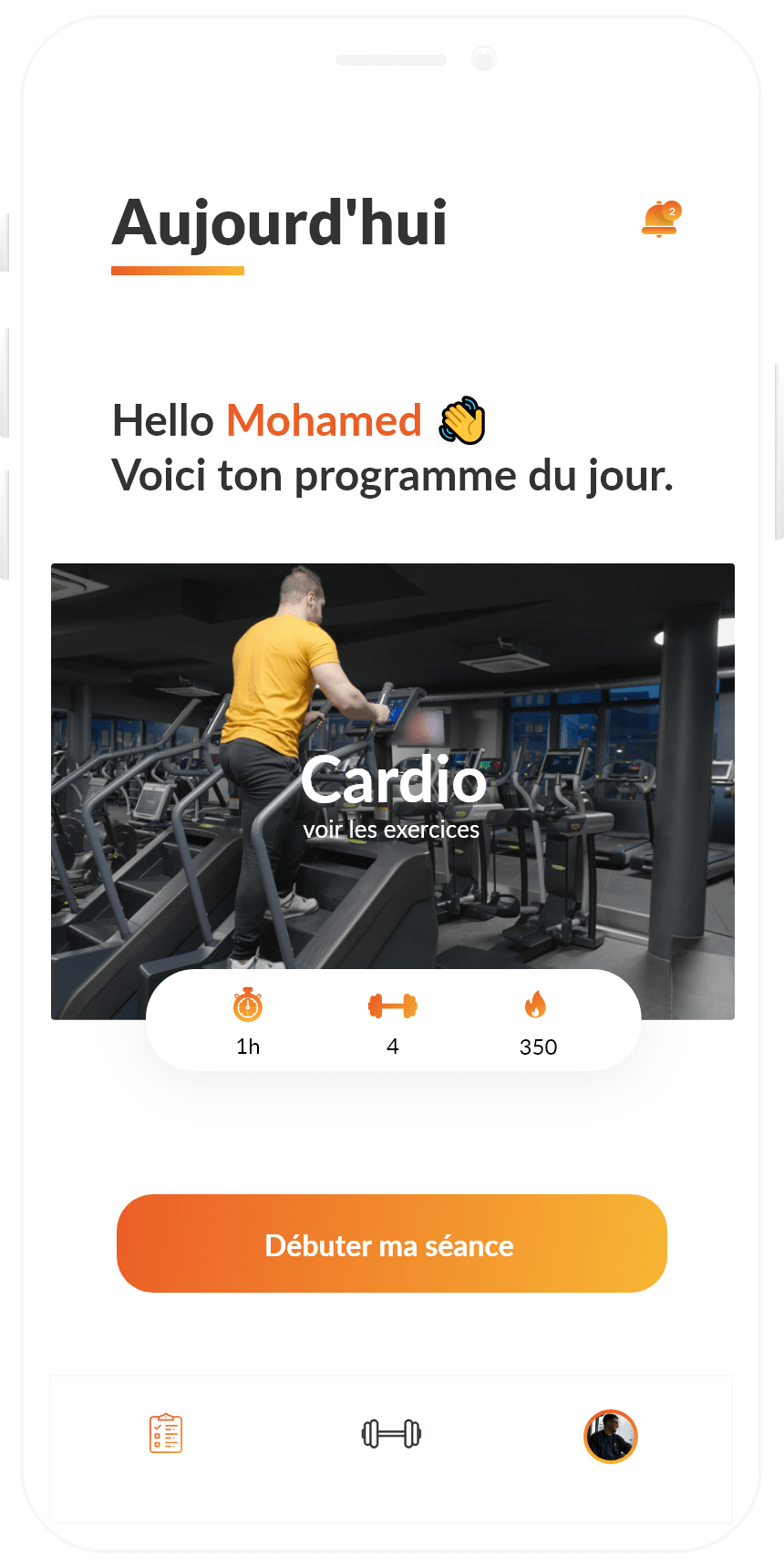Application pour coach sportif