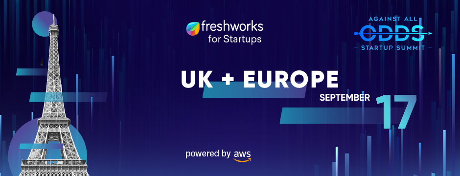 The next Freshworks Against All Odds summit is coming for European startups  - Tech.eu
