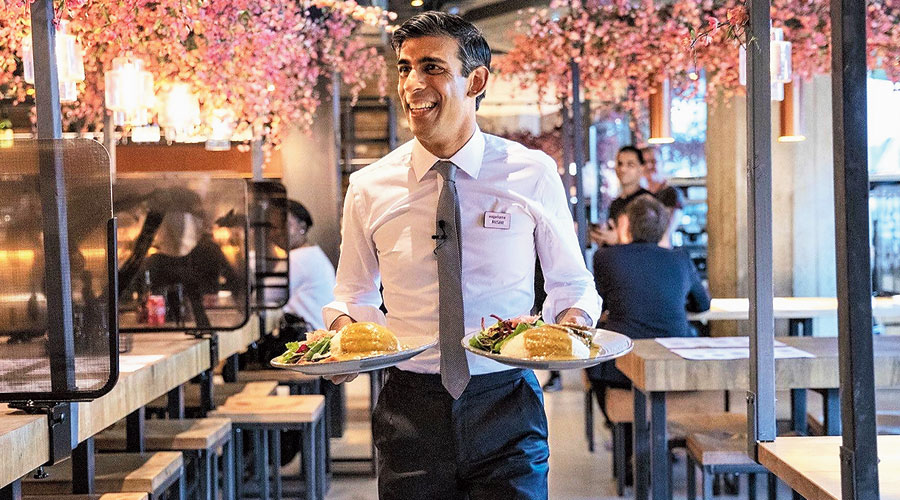 Rishi Sunak's half-price offer is a boost for Indian restaurants in Britain  - Telegraph India