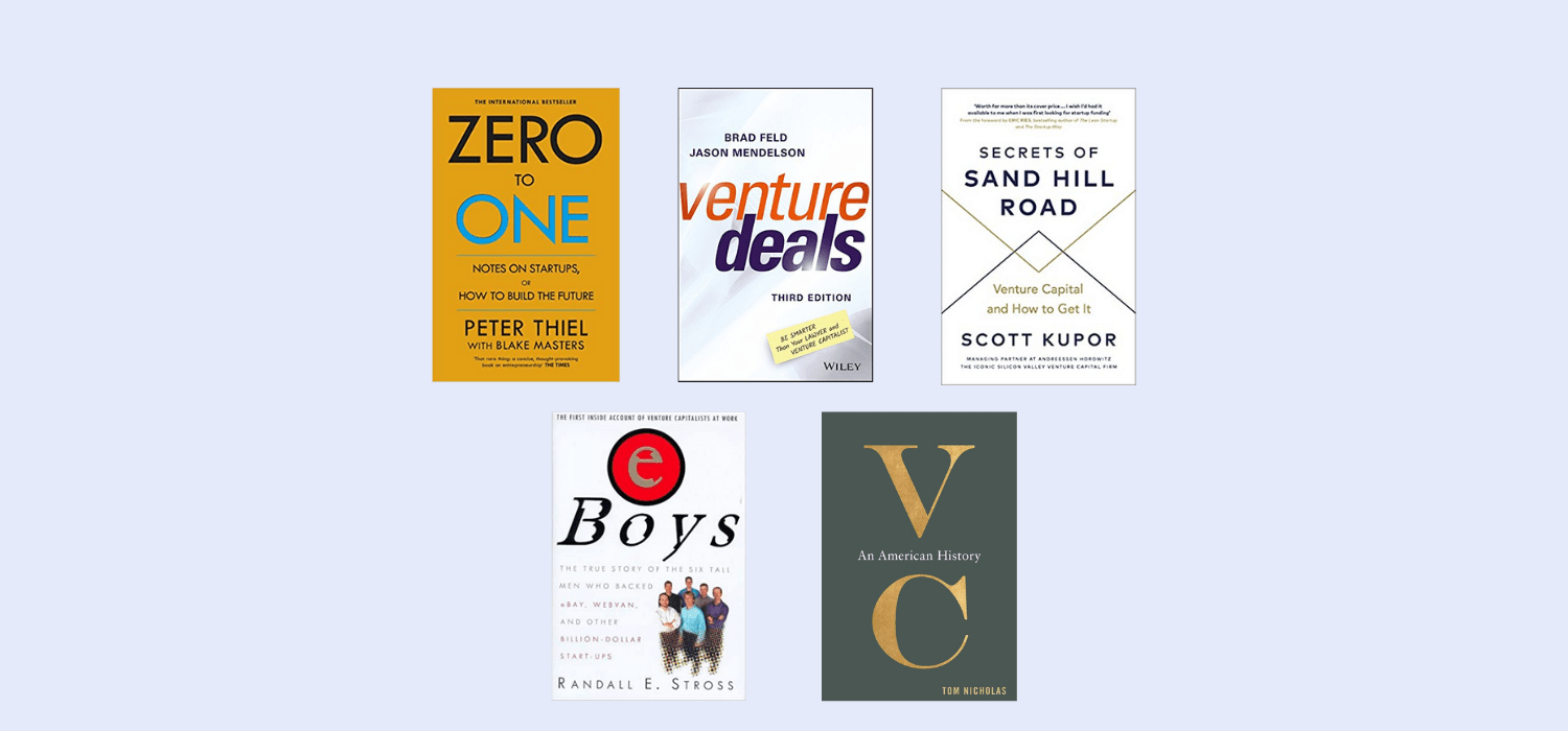 Have a read of the RLC Ventures top book recommendations for understanding and demystifying Venture Capital. From Peter Thiel's classic to the technical 'Venture Deals' there's something for everyone.