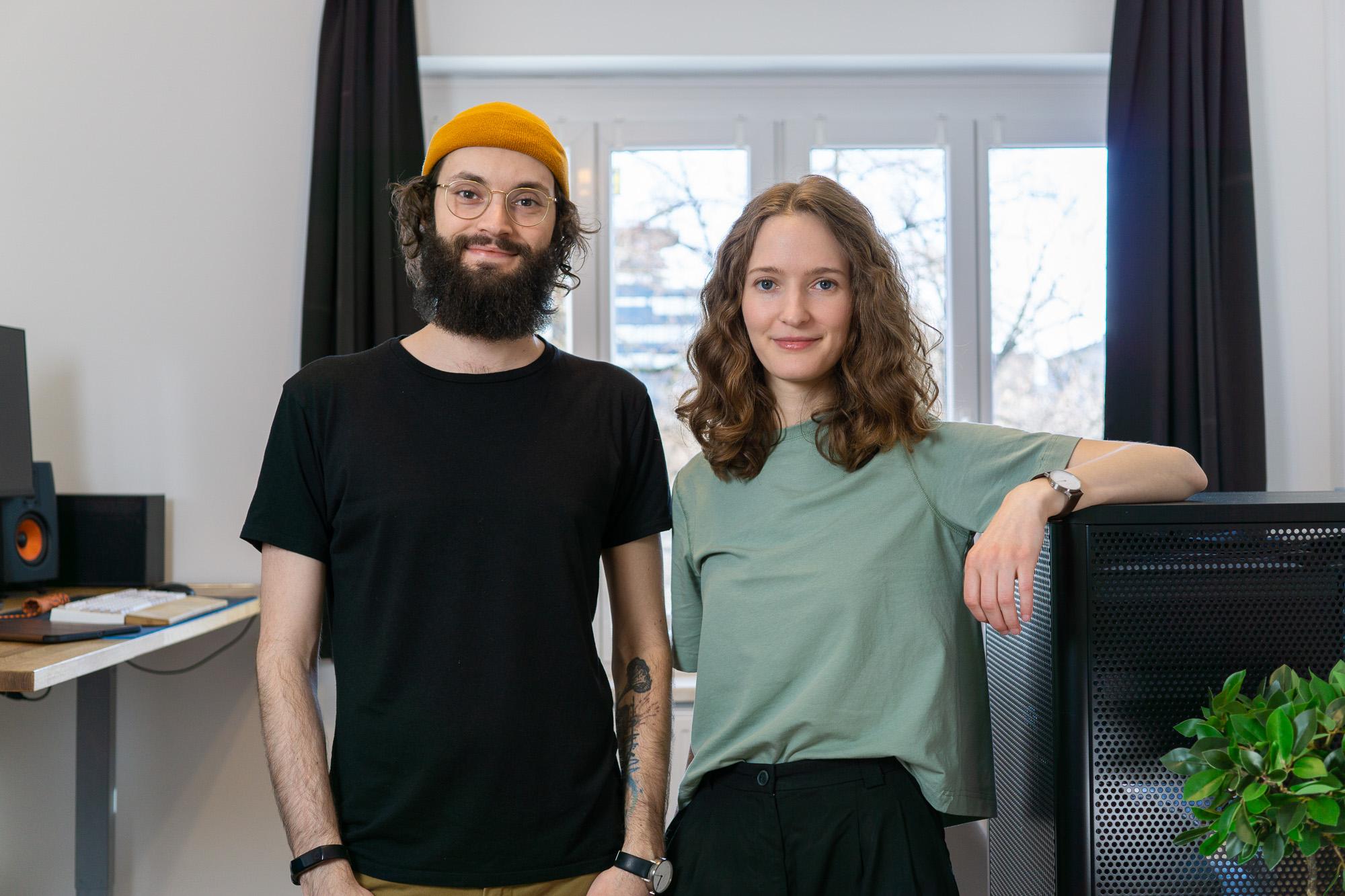 Die Gründer:innen von gunst: Sabine und Gerold