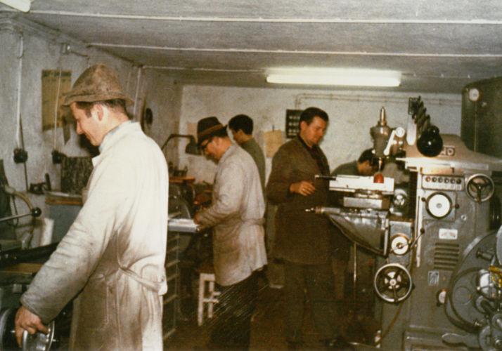 Gründung Hefter (Heute Mey) 1963