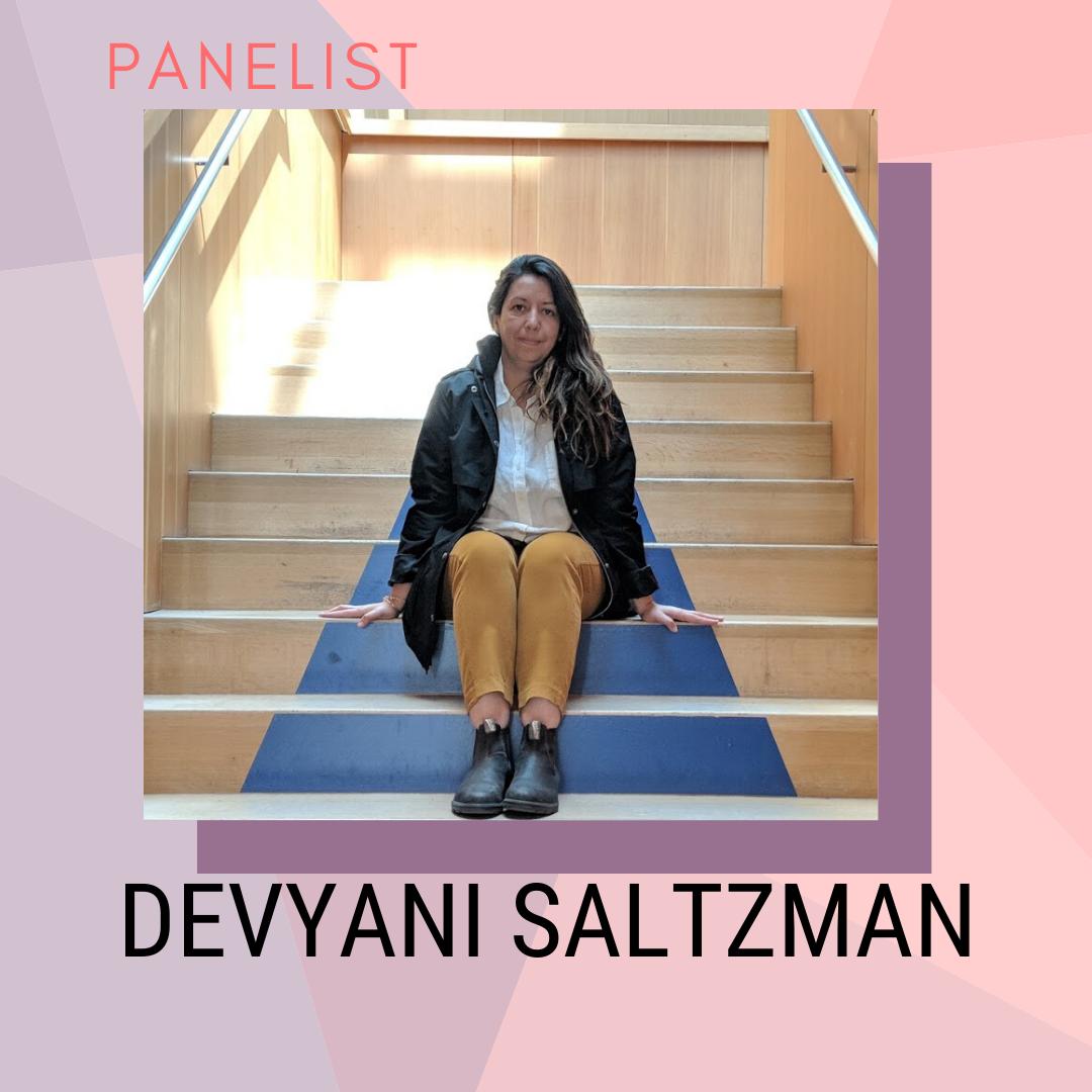 Panelist: Devyani Saltzman
