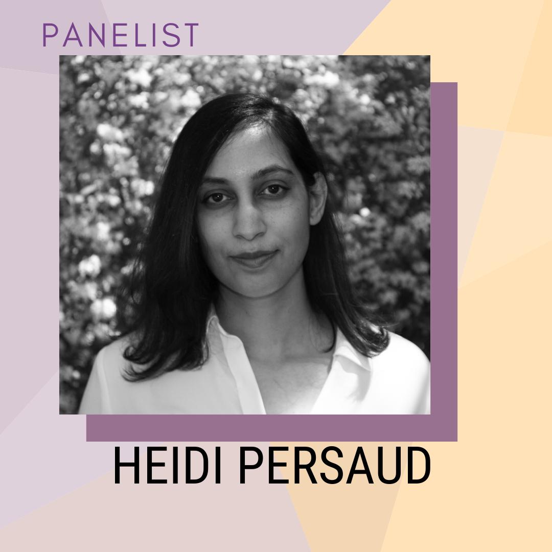 Panelist: Heidi Persaid